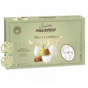 maxtris pera e cannella - confetti  1 kg