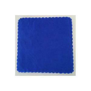 velo di fata quadrato blu (23 cm x 50 pz)