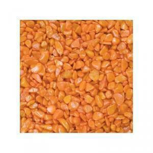 eurosand eurosand ghiaia 6-8 mm - arancio (1kg)