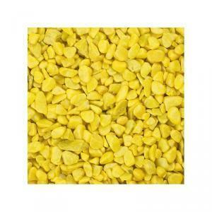 eurosand eurosand ghiaia 6-8 mm - giallo (1kg)