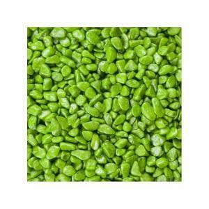 eurosand eurosand ghiaia 6-8 mm - verde (1kg)