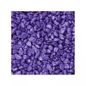 eurosand eurosand ghiaia 6-8 mm - viola (1kg)
