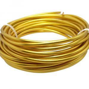 alluminio oro 2 mm x 12 metri