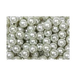 perle decorative argento 8 mm x 250 pz