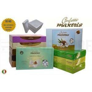 maxtris kit risparmio personalizzato 10 kg - confetti maxtris