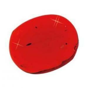 ciottoli decorativi colorati rosso 30mm (100ml)