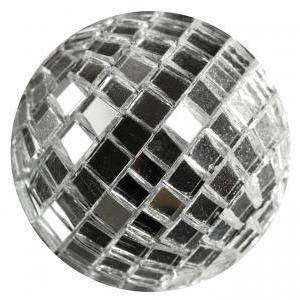 eurosand sfere di specchio argento 20mm (30pz)
