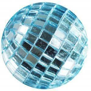 eurosand sfere di specchio celeste 20mm (30pz)