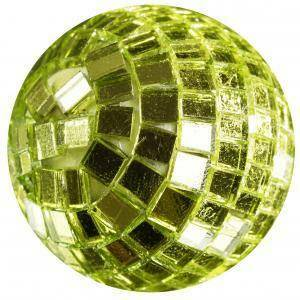 eurosand sfere di specchio verde mela 20mm (30pz)