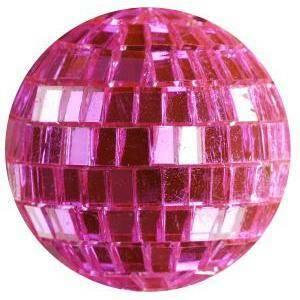eurosand eurosand sfere di specchio rosa 40mm