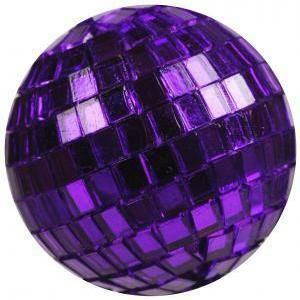 eurosand eurosand sfere di specchio viola 40mm