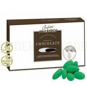 maxtris maxtris cioccolato - confetti  - verde (1kg)