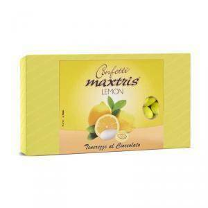 maxtris maxtris lemon - confetti  - giallo 1 kg