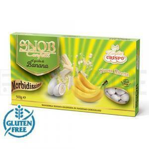 crispo crispo banana - confetti  snob 500 gr