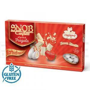 crispo crispo fragola - snob confetti  500 gr.