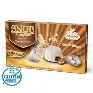 crispo crispo ricotta e noci - snob confetti 500 gr.