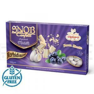 crispo crispo mirtilli - snob confetti  500 gr.