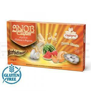 crispo crispo melone e anguria - snob confetti  500 gr.