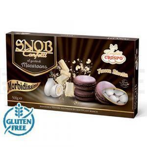 crispo crispo macaroons cioccolato - snob confetti  500 gr.