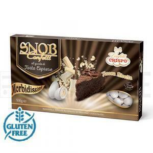 crispo crispo torta caprese - snob confetti  500 gr.