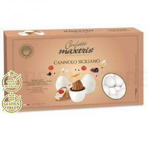 maxtris maxtris cannolo siciliano - confetti 1 kg