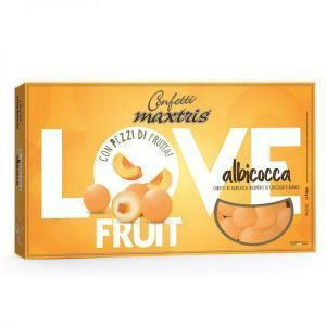 maxtris albicocca - love fruit confetti  1 kg