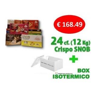 crispo kit risparmio crispo 24 confezioni confetti snob 500 gr. - 12 kg.