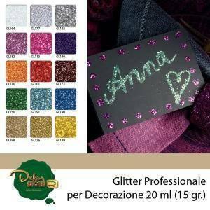 eurosand glitter verde 0,6mm - 100 gr