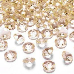 eurosand diamanti in pvc champagne 19 mm (100 ml - 45 pz ca.)
