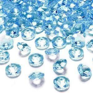 eurosand diamanti in pvc turchese 19 mm (100 ml - 45 pz ca.)