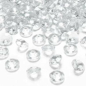 eurosand diamanti in pvc  trasparenti 19 mm (100 ml - 45 pz ca.)