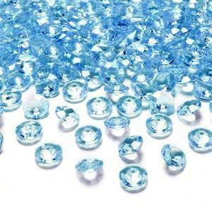 diamanti turchese 12 mm (pvc 100 ml - 170pz ca)