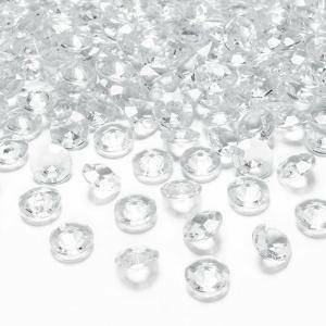 diamanti 12 mm (pvc 100 ml - 170pz ca) trasparente