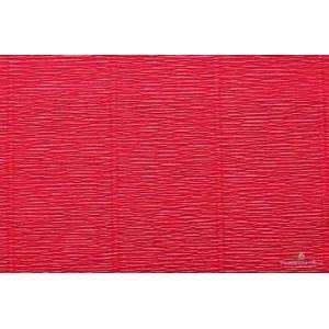 cartotecnica rossi cartotecnica rossi carta crespata rosso tenue 180gr (50 x 250cm)
