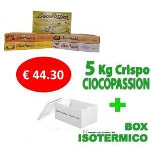 crispo kit risparmio crispo ciocopassion - 5 kg confetti