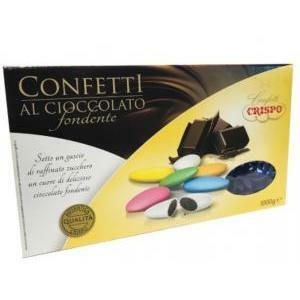 crispo crispo blu - confetti al cioccolato fondente 1 kg