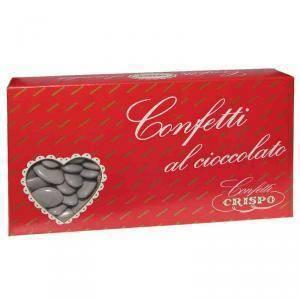 crispo crispo grigio - confetti al cioccolato fondente 1 kg