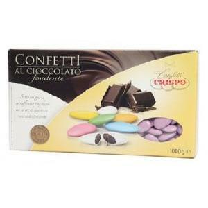 crispo crispo lilla - confetti al cioccolato fondente 1 kg