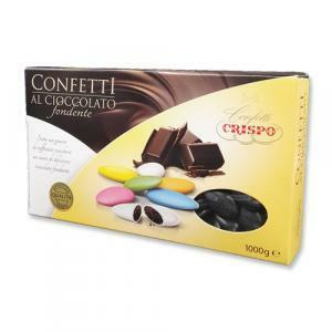crispo crispo nero - confetti al cioccolato fondente 1 kg