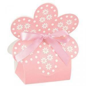 scotton spa scotton spa borsa 60x40xh110 mm in cartoncino a forma di fiore - atelier rosa