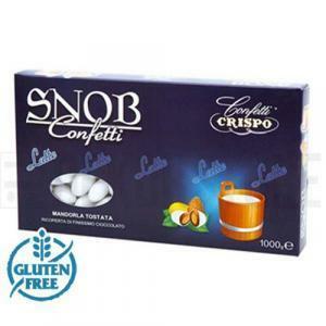 crispo crispo confetti snob  bianco - 1 kg
