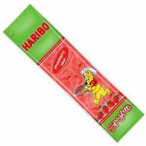 haribo haribo spaghetti fragola - 200gr