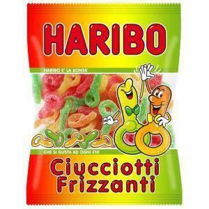 haribo haribo ciucciotti frizzanti - 200gr