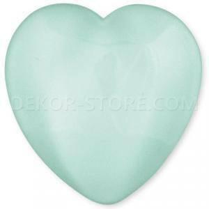scotton spa scotton spa cuore verde acqua x 25 pz - 23x25 mm in resina