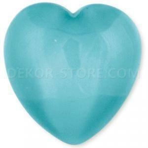 scotton spa scotton spa cuore azzurro x 25 pz - 23x25 mm in resina