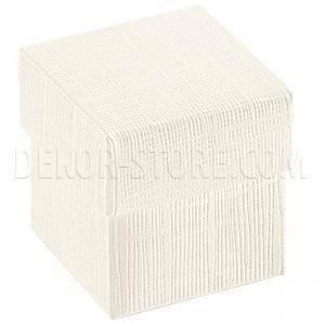 scotton spa scotton spa scatolina 50x50x50mm fondo e coperchio - seta bianco