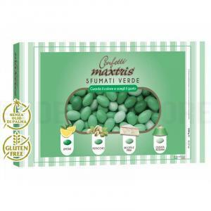 maxtris maxtris sfumati verde - confetti  1 kg