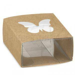scotton spa scotton spa astuccio 60x60x30 mm con fascetta farfalla avana