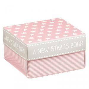 scotton spa scotton spa scatolina 60x60x35mm star rosa - fondo e coperchio