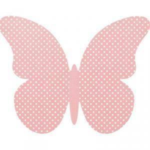 scotton spa scotton spa farfalla 75x60 mm (cf.4pz) chiudipacco cartoncino atelier rosa con pois